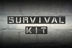 Survival kit GR Stock Images