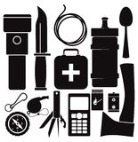 Survival kit Royalty Free Stock Photography