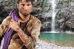 Survival man Stock Photography