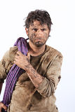 Survival man Stock Images