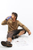 Survival man Stock Photos