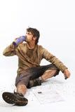 Survival man Stock Photos