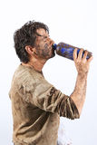 Survival man Royalty Free Stock Images