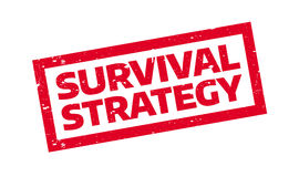 Free Survival Strategy Rubber Stamp Royalty Free Stock Photos - 89196438