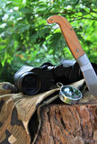 Survival tools Royalty Free Stock Photography