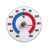 Survivez au thermomètre photographie stock libre de droits