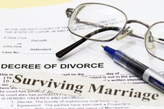Surviving Marriage Royalty Free Stock Image