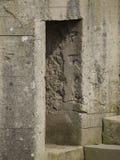 Surviving observation bunker at the Pointe du Hoc, France Royalty Free Stock Image