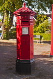Surviving Victorian post box Stock Image