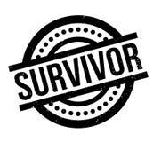 Survivor rubber stamp Stock Images