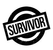 Survivor rubber stamp Royalty Free Stock Image