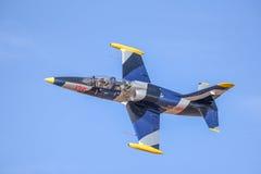 Survol aérien de L-39 Albatros Images stock