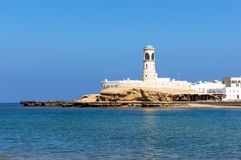 Survuurtoren - Sur, Oman royalty-vrije stock foto