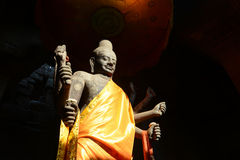 Suryavarman I in Angkor Royalty-vrije Stock Foto's