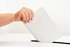 Sus materias del voto Fotos de archivo