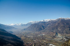 The Susa Valley Stock Image