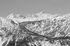 Susa Valley Mountains Royalty Free Stock Image