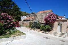 Susak village near Mali Losinj in Croatia Royalty Free Stock Photo