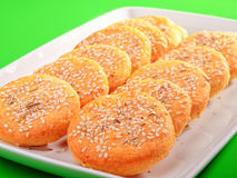Susame cookies Royalty Free Stock Photography