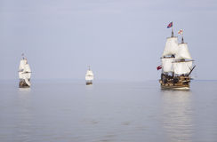 The Susan Constant, Godspeed and Discovery, Stock Images