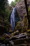 Susan Creek Falls Photos libres de droits