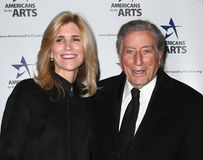 Susan Crow, Tony Bennett Royalty Free Stock Photography