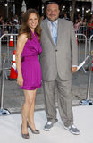 Susan Downey och Joel Silver Royaltyfri Fotografi