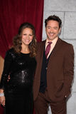 Susan Downey, Robert Downey Jr Stock Photography