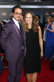 Susan Downey,Robert Downey, Jr. Royalty Free Stock Photos