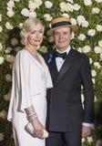 Susan Lyons och Jefferson Mays Royaltyfria Bilder