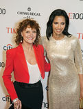 Susan Sarandon and Padma Lakshmi Stock Photos