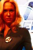 Susan Storm au musée de Madame Tussauds à Las Vegas images stock