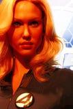 Susan Storm no museu da senhora Tussauds em Las Vegas Fotografia de Stock Royalty Free