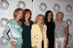 Susan Sullivan,Margaret Ladd,Abby Dalton,Ana Alicia Royalty Free Stock Photography
