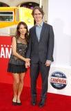 Susanna Hoffs e Jay Roach Fotografie Stock