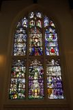 The Susanna window at St. Edmundsbury Cathedral Royalty Free Stock Photography