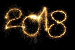 Susciter 2018 ans Images libres de droits