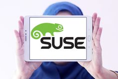 SUSE-Softwareunternehmenlogo Lizenzfreies Stockbild