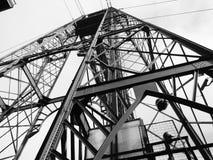 Susensions-Brücke Stockbild