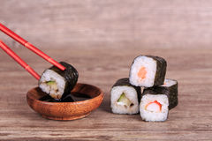Sush and Roll Royalty Free Stock Photos