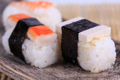 Sush and Roll Royalty Free Stock Photo