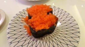 Sushi är klassisk original- mat royaltyfria foton