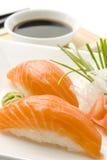 sushi łososia fotografia stock