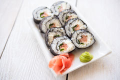 - sushi łososia Obrazy Royalty Free
