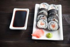 - sushi łososia Obrazy Stock