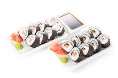 - sushi łososia Fotografia Stock
