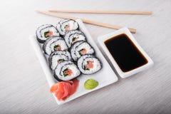 - sushi łososia Zdjęcia Royalty Free
