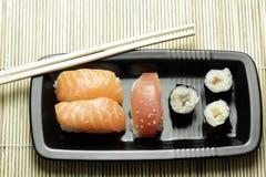 Sushi. Japanese fich food called sushi Stock Photo