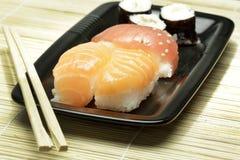 Sushi. Japanese fish food called sushi Stock Photography