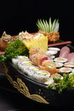 Sushi. Typical Japanese food and assiatica served fresh Royalty Free Stock Photography